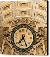 Paris Clocks 2 Canvas Print by Andrew Fare