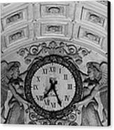 Paris Clocks 3 Canvas Print by Andrew Fare