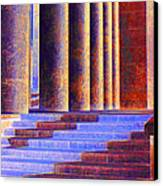 Paris Columns Canvas Print by Chuck Staley