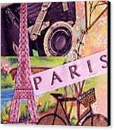 Paris  Canvas Print by Eloise Schneider