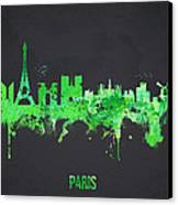 Paris France Canvas Print