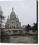 Paris France - Basilica Of The Sacred Heart - Sacre Coeur - 12129 Canvas Print by DC Photographer