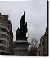 Paris France - Street Scenes - 0113129 Canvas Print by DC Photographer