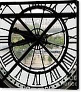 Paris Time Canvas Print