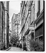 Parisian Street Canvas Print by Georgia Fowler