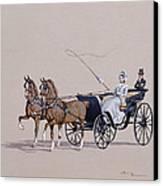 Park Phaeton Canvas Print by Ninetta Butterworth