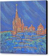 Parroquia From Below Canvas Print by Marcia Meade