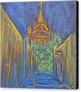 Parroquia From The Back Canvas Print by Marcia Meade