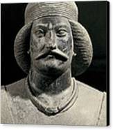 Parthian Warrior From Shami. 1st C Canvas Print by Everett