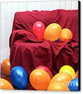 Party Balloons Canvas Print