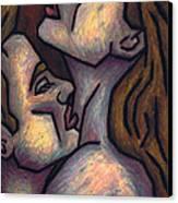 Passion Canvas Print by Kamil Swiatek