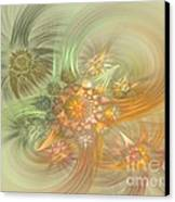 Pastel Delicate Pattern Canvas Print