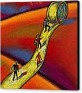 Path Canvas Print by Leon Zernitsky