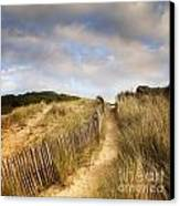 Path Through Dunes Canvas Print by Colin and Linda McKie