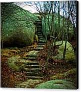 Path To Munchkinville Canvas Print by Marcia Lee Jones