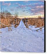 Pathway To Crooked Lake Canvas Print by Jenny Ellen Photography