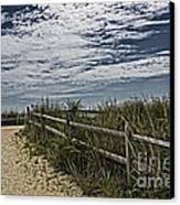 Pathway To The Sea Canvas Print by Tom Gari Gallery-Three-Photography