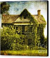 Patiently Waiting Canvas Print by Lois Bryan