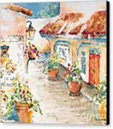 Patio De Las Campanas  Canvas Print