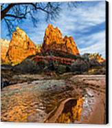 Patriarchs Of Zion Canvas Print by Chad Dutson