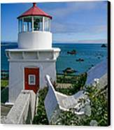 Patrick's Point Lighthouse Canvas Print by Jim DeLillo