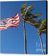 Patriot Keys Canvas Print by Carey Chen