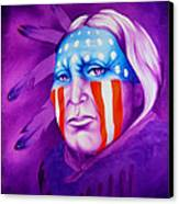 Patriot Canvas Print by Robert Martinez