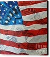 Patriotic Canvas Print by Michelley Fletcher