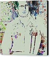 Paul Newman  Canvas Print by Naxart Studio