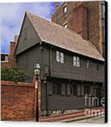 Paul Revere House Canvas Print by David Davis