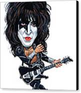 Paul Stanley Canvas Print by Art