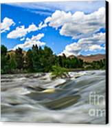 Payette River Canvas Print by Robert Bales