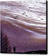 Peace On Earth Canvas Print