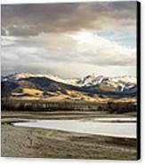 Peaceful Day In Helena Montana Canvas Print