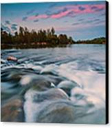 Peaceful Evening Canvas Print by Davorin Mance