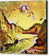 Peaceful Secret Canvas Print by YoMamaBird Rhonda