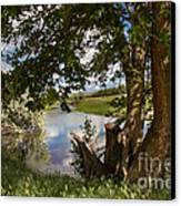Peaceful View Canvas Print by Robert Bales