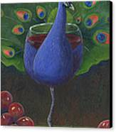 Peacock Pinot Canvas Print
