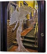 Peacock Room Door Canvas Print