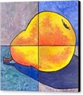 Pear I Canvas Print