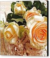 Pearl Roses Canvas Print
