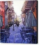 Pedestrian Mall  212 Canvas Print