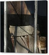 Peek Into The Past Canvas Print by Sandra Bronstein