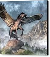 Pegasus Canvas Print by Daniel Eskridge