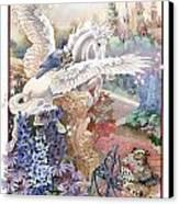 Pegasus Canvas Print by Lynette Yencho