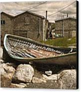 Peggy's Cove Nova Scotia  Canvas Print by Cindy Rubin