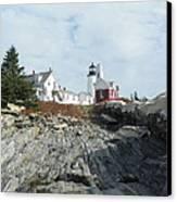 Pemaquid Point Lighthouse Canvas Print by Joseph Rennie