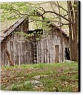 Pendleton County Barn Canvas Print by Randy Bodkins