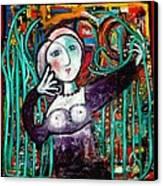 Penelope Canvas Print by Andrea Vazquez-Davidson