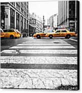 Penn Station Yellow Taxi Canvas Print